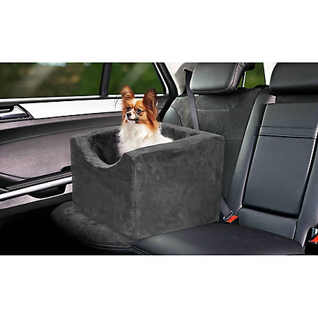 Precious Tails High Density Foam Small Pet Car Booster Seat, EDMW16BC-BLK