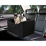 Precious Tails High Density Foam Large Double Pet Car Booster Seat, EDMW21BC-BLK