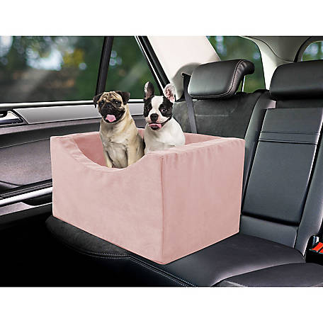 Precious Tails High Density Foam Large Pet Car Booster Seat, EDMW21BC-BLK