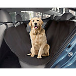 Precious Tails Waterproof Pet Car Back Seat Protector Cover, 53WCS-BLK