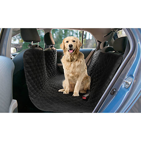 Precious Tails Quilted Pet Car Back Seat Protector Cover