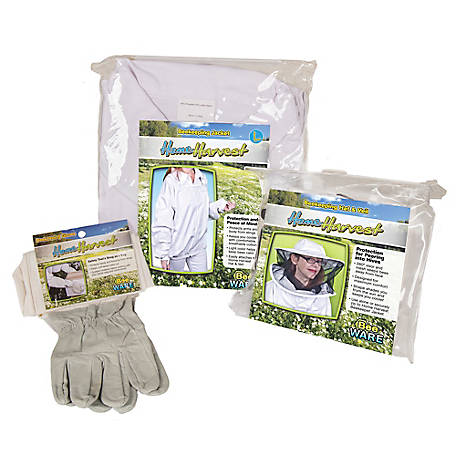 Ware Home Harvest 3-pc. Beekeeping Attire Set - Large