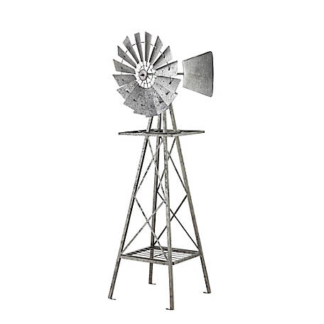 Red Shed Metal Windmill, 5 ft.