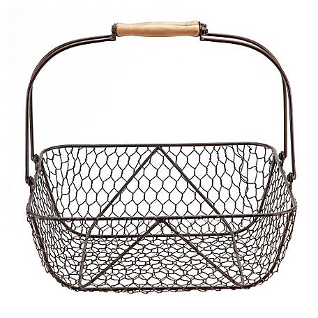 Red Shed Retro Egg Wire Basket