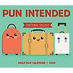 Willow Creek Press Pun Intended 2020 Box Calendar, 9659