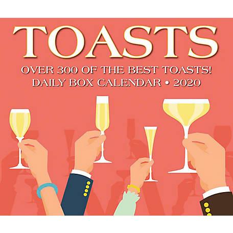 Best Box Wine 2020 Willow Creek Press Toasts 2020 Box Calendar, 8973 at Tractor