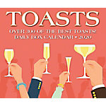 Willow Creek Press Toasts 2020 Box Calendar, 8973