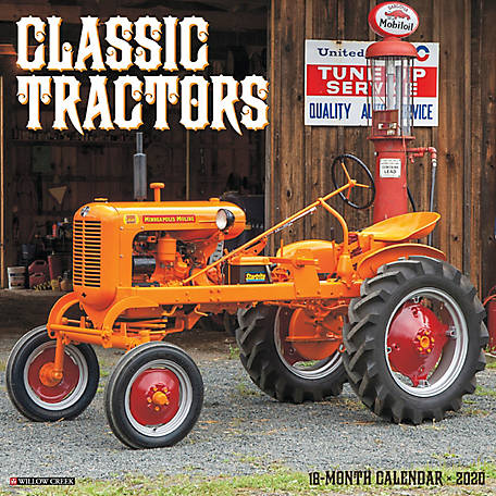 Willow Creek Press Classic Tractors 2020 Wall Calendar, 5941