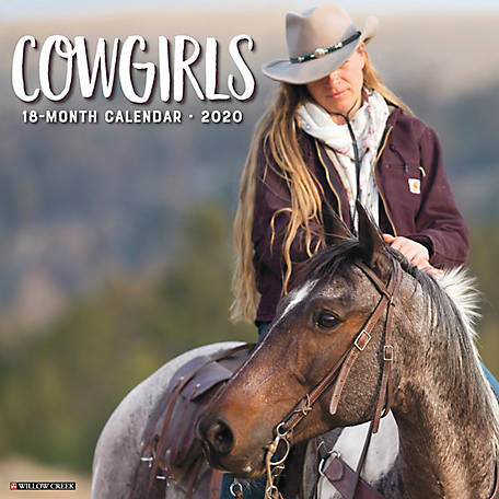 Willow Creek Press Cowgirls 2020 Wall Calendar, 6092