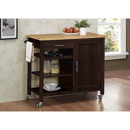 4D Concepts Calgary Kitchen Cart, 53653