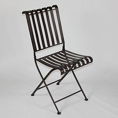 4D Concepts Metal Folding Chair, 55582