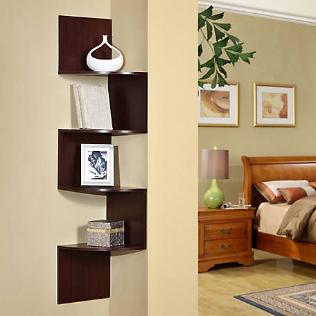 4D Concepts Corner Shelving Unit, 99600