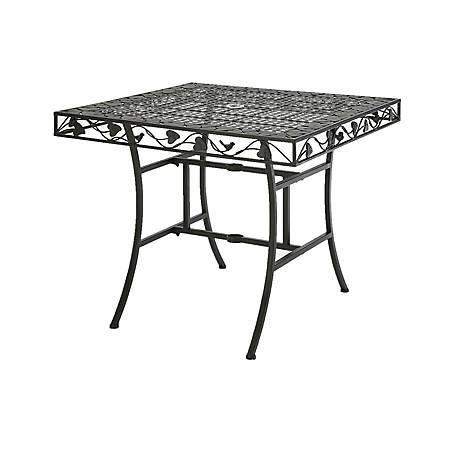 4D Concepts Square Outdoor Dining Table, 120260