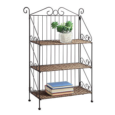 4D Concepts Three Tier Bookcase, 144014