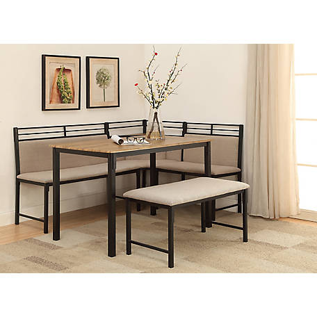 4D Concepts Corner Nook Dining Set, 159369