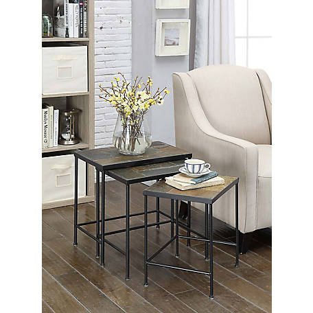 4D Concepts Slate Nesting Tables, 601609