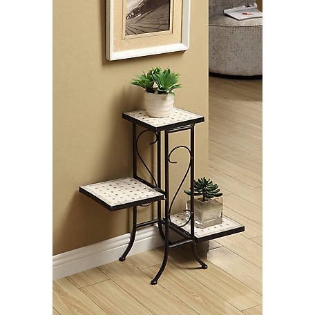 4D Concepts Metal Plant Stand, 605808