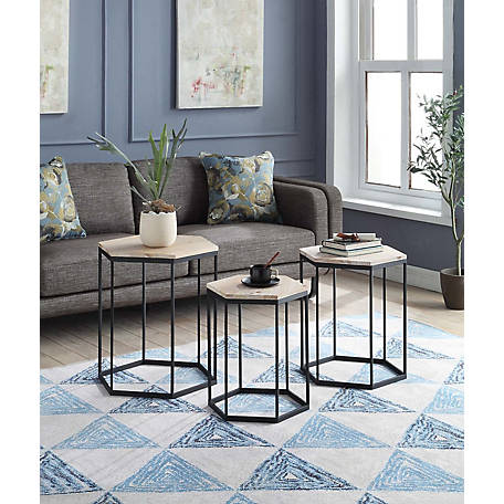 4D Concepts Sextagon Nesting Tables, 631029