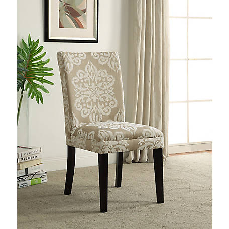 4D Concepts Upholstered Parsons Chair, 773021