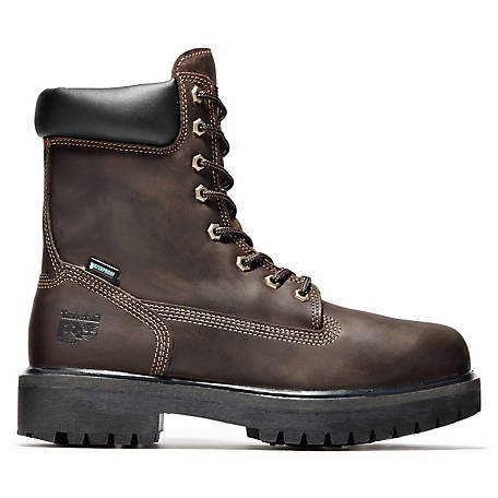 Timberland PRO Men's 8 in. Direct Attach Soft Toe Waterproof Insulated TB038022242