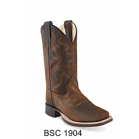 Old West Boys Western Boot, BSC1904