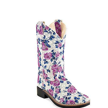 Old West Girls' Girls Western Boot, VB9151