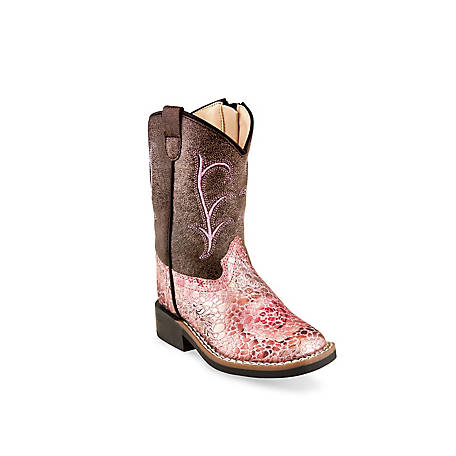 Old West Girls' Western Boot VB1054
