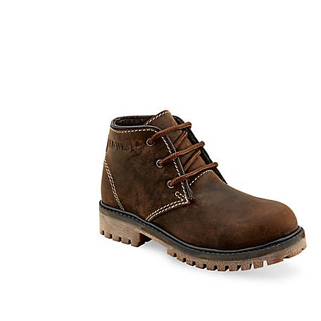Old West Boys' Leather Boot, 98506