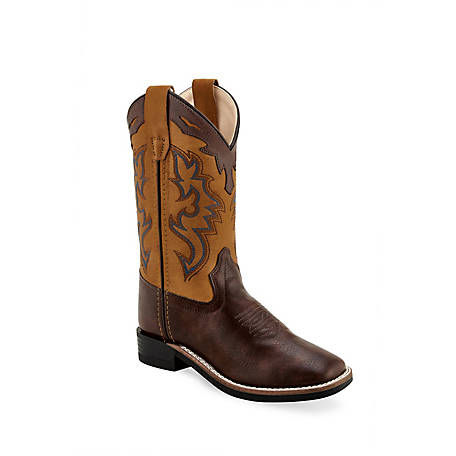 Old West Boys Western Boot, VB9136