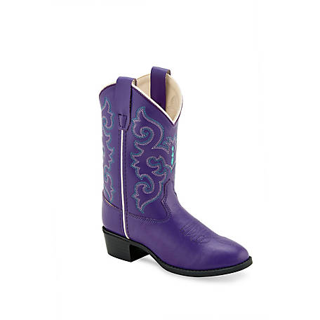 Old West Girls' Western Boot VR9125