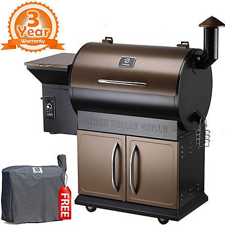 Z Grills 694 Sq In Cooking Area Bronze Black, ZPG-700D