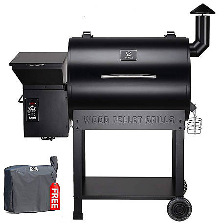 Z Grills 694 Sq In Cooking Area Black, ZPG-7002B