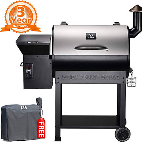 Z Grills 694 Sq In Cooking Area Silver, ZPG-7002E