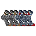 Carhartt Boy's Camp Sock Ast01, Pack of 6 CHBA0014C6U2001