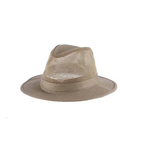 DPC Washed Twill Mesh Safari Hat, 863M