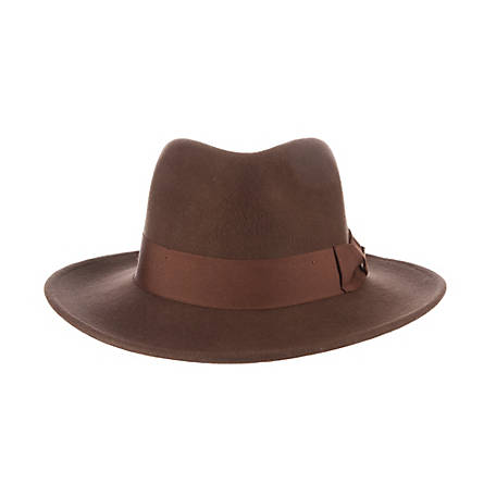 Indiana Jones Crushable Wool Felt Hat, IJ557