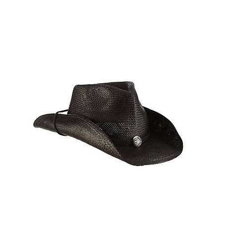 Scala Shapeable Toyo Western Hat, ST11OS