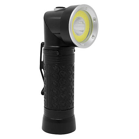 Dakota Emergency Swivel Flashlight Black, 90183