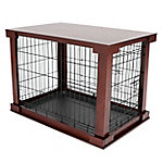 Zoovilla Cage with Crate Cover, Mahogany MP, MPLC001
