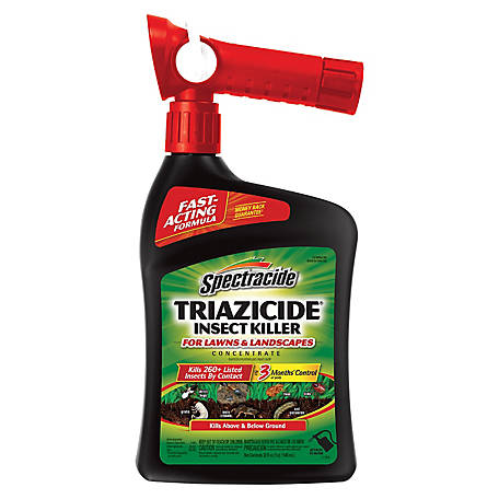Spectracide Triazicide Insect Killer for Lawns & Landscapes Concentrate, Ready-to-Spray, 32 fl. oz., HG-95830