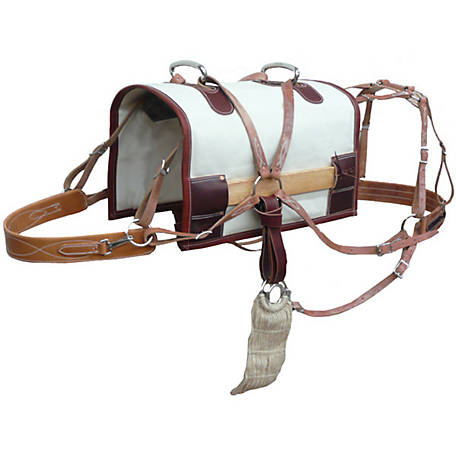 Outfitters Supply Classic Decker Pack Saddle Modififed Tree Canvas Half-Breed, WPS400