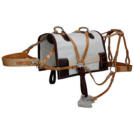Outfitters Supply Economy Decker Pack Sadeld Modififed Tree Canvas Half-Breed, WPS455