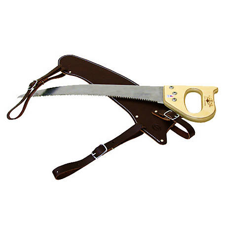 Outfitters Supply 19 Fanno Saw & Leather Scabbard, WSC120-L