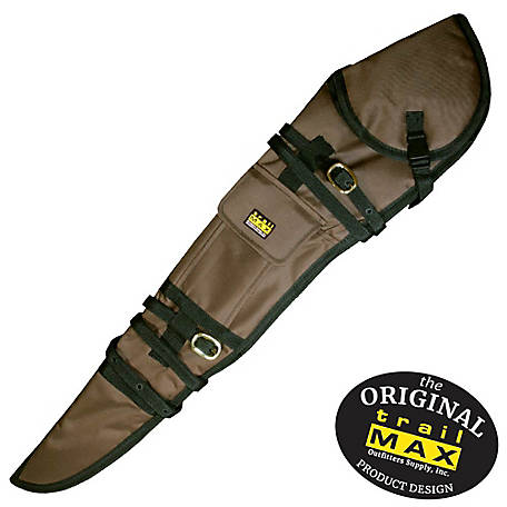 TrailMax Rifle Scabbard Left Hand Brown, WSC136-BR