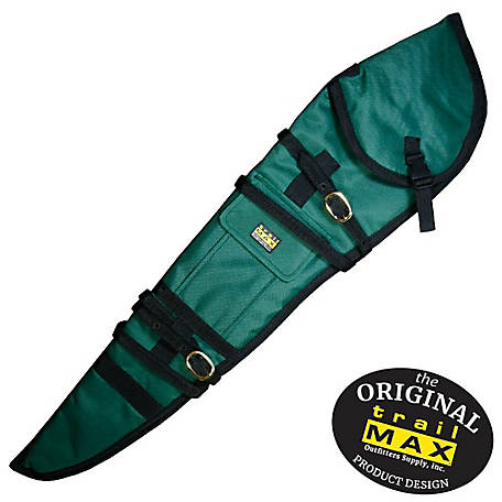 TrailMax Rifle Scabbard Left Hand Green, WSC136-GR