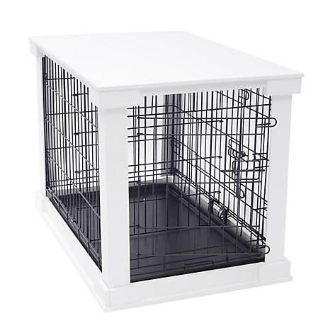 Zoovilla Cage with Crate Cover, White, PTH0231720100