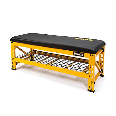 DeWALT DXSTFB048 Shop / Garage Bench with Wire Grid Storage Shelf, 41563