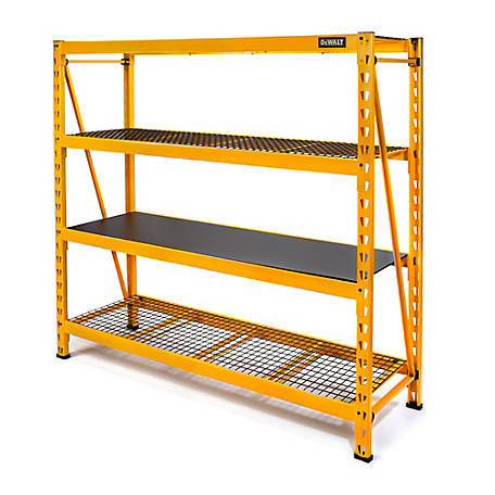 DeWALT DXST10000 6 ft. Tall 4-Shelf Industrial Storage Rack, 56829