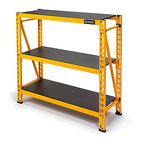 DeWALT DXST4500 4 ft. Tall 3-Shelf Industrial Storage Rack, 56831