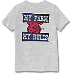 Farm Fed Clothing Boys' Youth Short Sleeve Tee My Farm TSC0978